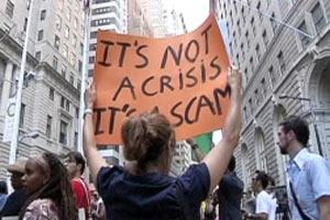 Уолл-стрит в Нью-Йорке хотят захватить демонстранты