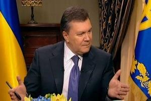 "Янукович: ""На Майдане мои единомышленники"""