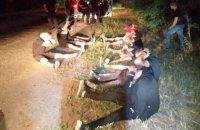 В МВД сообщили о задержании нападавших на автобус ОПЗЖ
