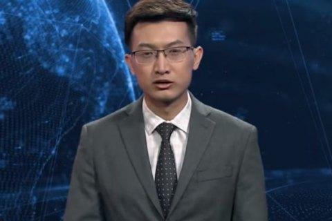 """В Китае показали """"искуственного"""" телеведущего"""