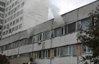 У київській лікарні швидкої допомоги сталася пожежа