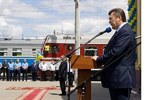Янукович намерен до 2016 года упразднить ночные поезда