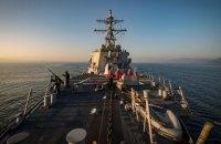 Американський ракетний есмінець прямує в Одесу