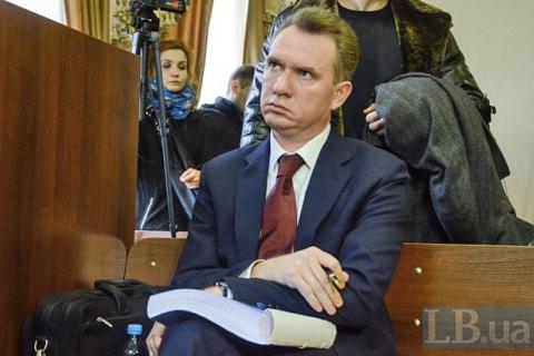 Суд арестовал автомобиль Охендовского ибанковский счет со100 гривнами— юрист