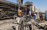 В Египте столкнулись пассажирские поезда, погибли десятки людей