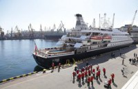 У порт Одеси вперше за два роки зайшов круїзний лайнер