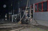 """Спасатели потушили пожар на заводе """"Биофарма"""" в Белой Церкви"""