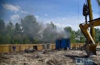 Кличко запропонував заморозити будівництво біля озер на Осокорках