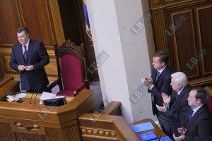 Большинство депутатов негативно относятся к возвращению полномочий Януковичу