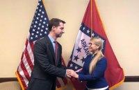 Тимошенко встретилась в США с сенаторами от Арканзаса и Иллинойса