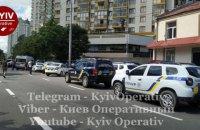 У Києві внаслідок стрілянини поранено поліцейського і цивільну людину, стрілок зачинився в квартирі і підпалив її (оновлено)