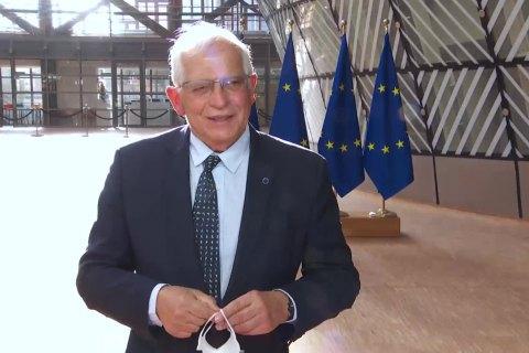 Головний дипломат ЄС закликав Росію відвести війська від кордонів України