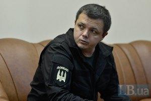 Семенченко заявил о взятии под контроль одной из дорог из Дебальцево в Артемовск