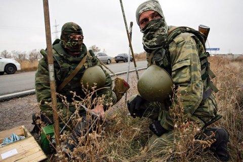 Бойовики 9 разів обстріляли сили АТО у неділю