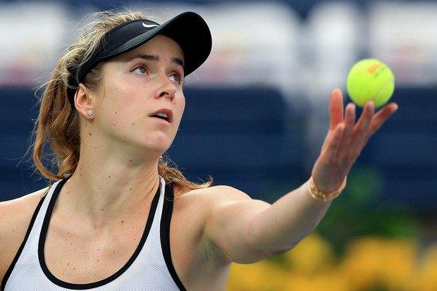 Свитолина вышла вполуфинал теннисного турнира вДубаи