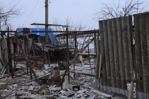 Штаб АТО показав наслідки нічного обстрілу селища Луганське