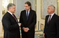 """Порошенко и госсекретари МИД Германии обсудили риски """"Северного потока-2"""" для Европы"""