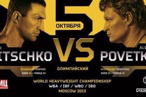 На бой Кличко - Поветкин проданы практически все билеты