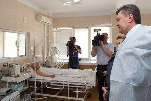 Янукович после больничного выйдет на работу 3 февраля