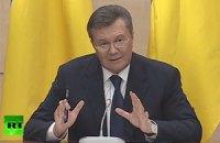 Янукович: я никогда не отдавал приказ милиции стрелять