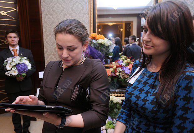 Леся Оробец оставляет пожелания LB.ua