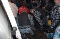 """Вчера на Евромайдане """"беркутовцы"""" избили трех нардепов """"Батькивщины"""""""