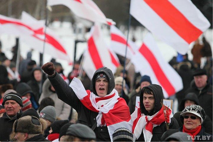 Протести під час Дня волі в Білорусі