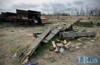 Террористы всю ночь обстреливали украинские блокпосты под Дебальцево