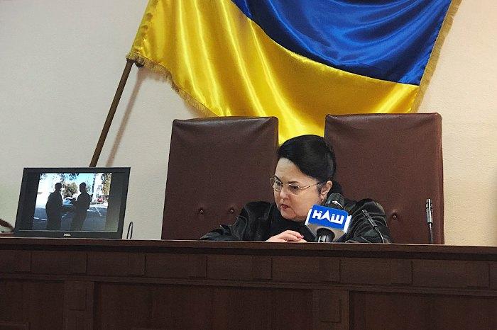 Судья Татьяна Щасна