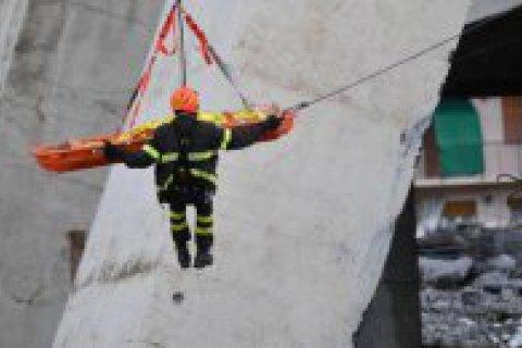 Кількість загиблих під час обвалення мосту в Генуї сягнула 39 осіб (оновлено)