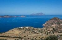 Біля острова Мілос у Греції затонула туристична яхта