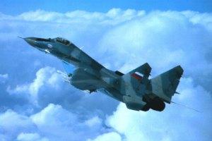 В России разбился МИГ-29, пилоты погибли