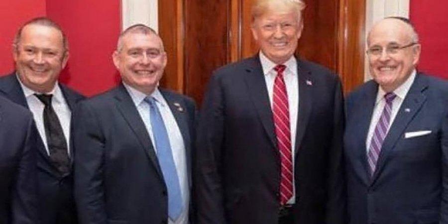 Ігор Фруман, Лев Парнас, Дональд Трамп і Руді Джуліані