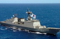На корейском эсминце произошла вспышка COVID-19, заболели 247 из трехсот моряков