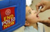 Украина получила 2,2 млн доз вакцины против полиомиелита