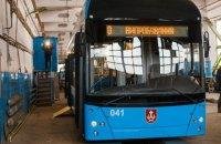 У Вінниці показали власний тролейбус на базі МАЗ