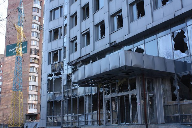 В Донецке