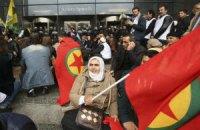 Курдские протестующие ворвались в Европарламент