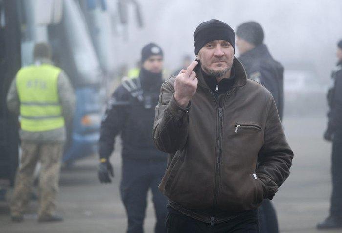 Утримувана особа, яку Україна віддає бойовикам, перед обміном