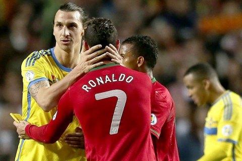 """""""Есть только один Роналдо – бразилец"""": Ибрагимович потролил Криштиану"""