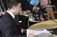 Зеленський на нормандському саміті виключив федералізацію, відмову від євроінтеграції і Криму