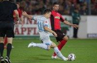 В матче Бундеслиги Коноплянку заменили на голкипера