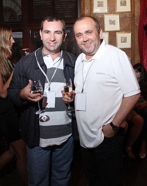 Максим Лазебник (справа), продюсер КМФР