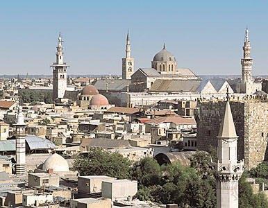 В Дамаске посольство РФ попало под обстрел