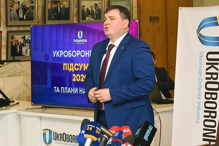 Генеральний директор Укробронпрому Юрій Гусєв