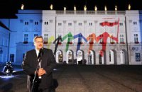 Президент Польши извинился перед Россией за нападение на посольство