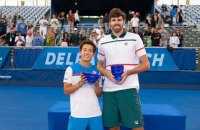 Американский теннисист с ростом 211 см выиграл турнир ATP в Делрей-Бич