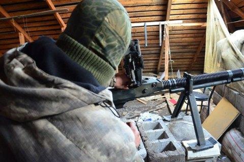 Бойовики 8 разів обстріляли позиції сил АТО від початку доби