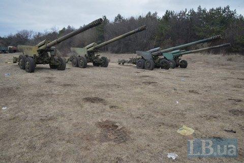 Силы АТО продолжат отвод артиллерии, несмотря на нарушение перемирия боевиками