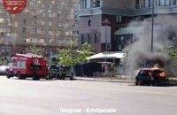 В Киеве ради съемок фильма сожгли внедорожник